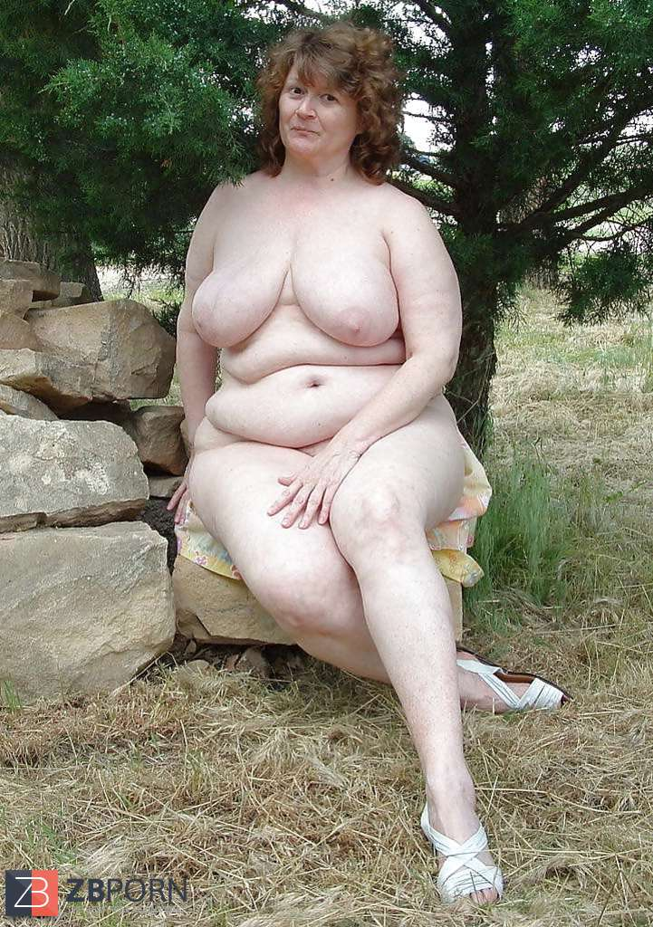 bbw outdoor Uncensored chubby