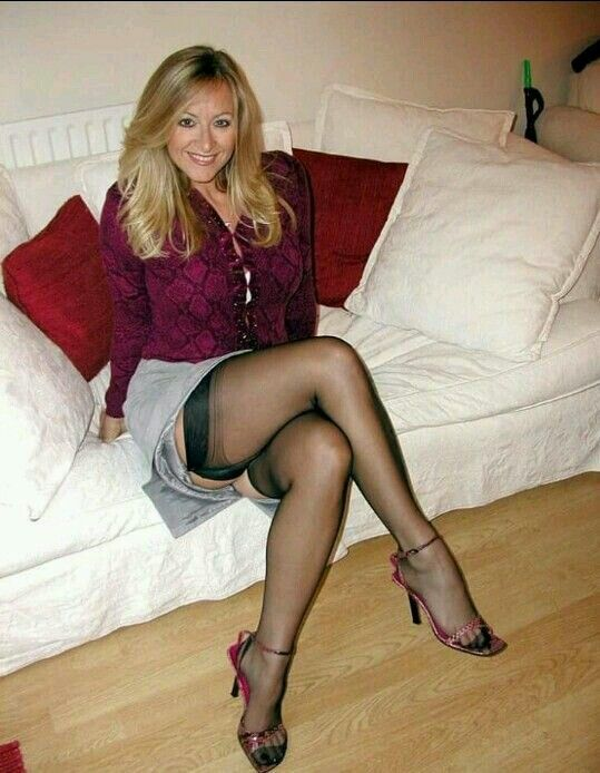 tits young casting Pantyhose big