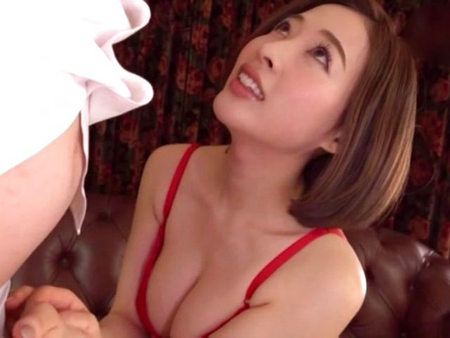 Shaved POV wet asian