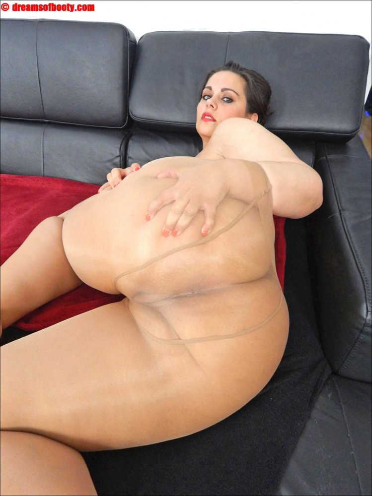 bbw pantyhose uncensored Booty