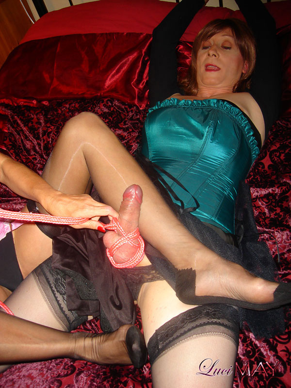 POV wet bdsm Crossdresser