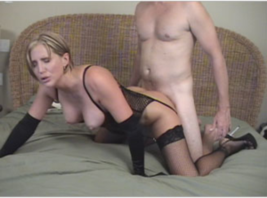 blonde panties monster dick Woman