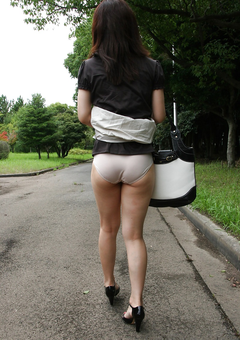 Porn Pics & Moveis Brunette bending outdoor uniform
