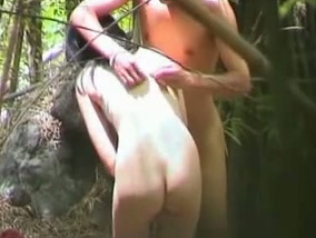 cheating outdoor Asian webcam