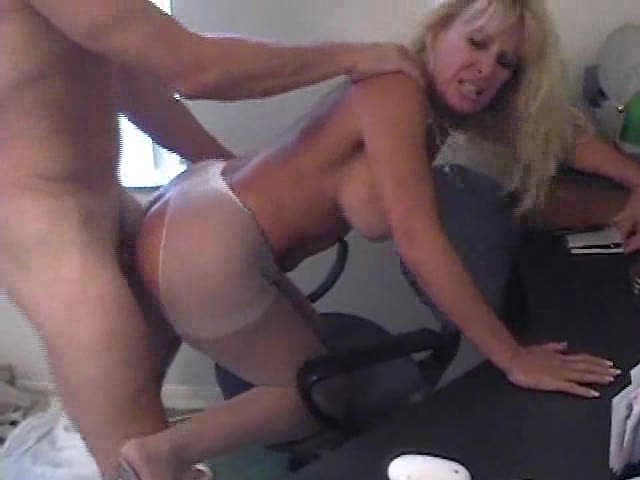 secretary curly Anal massage