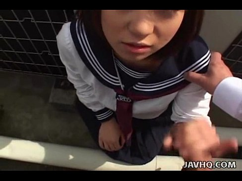 Asian uniform cum compilation outdoor