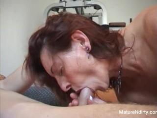 Piercing gym stepmom anal