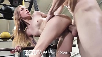 XXX Pictures Strip huge glasses oiled