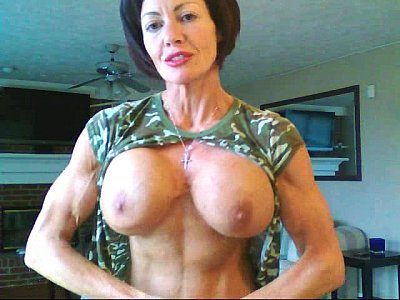 Muscle domination big boobs fucking machines