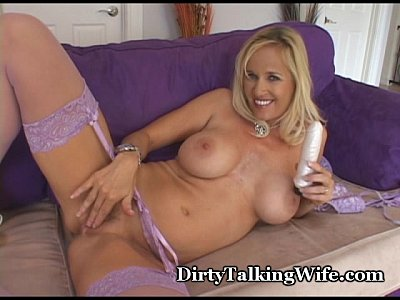 dirty Blonde sexy talk lingerie