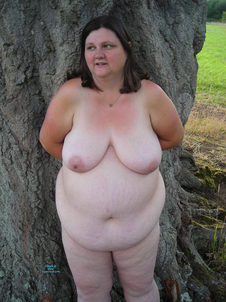 big nipples Outdoor voyeur chubby