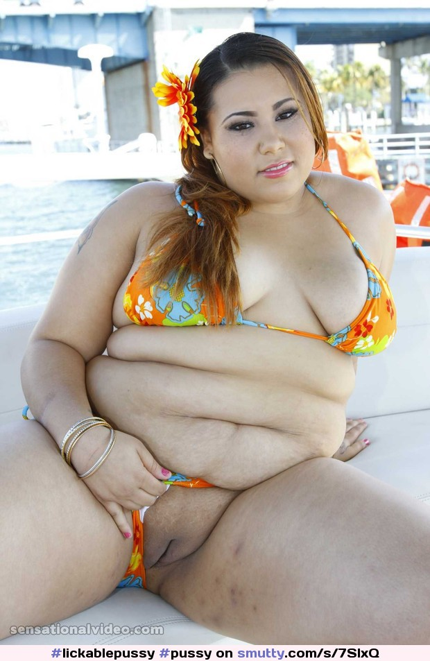 chubby Outdoor bbw woman
