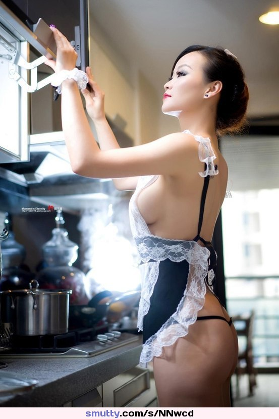 Daddy asian sexy maid