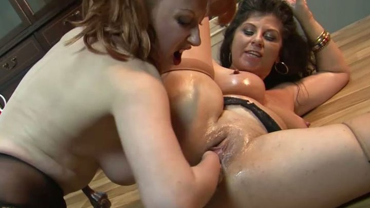 dyke mistress boobs Big fisting