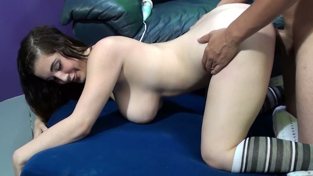doggystyle maid boobs Sex