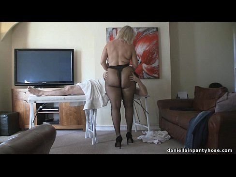 Strip model first time interracial