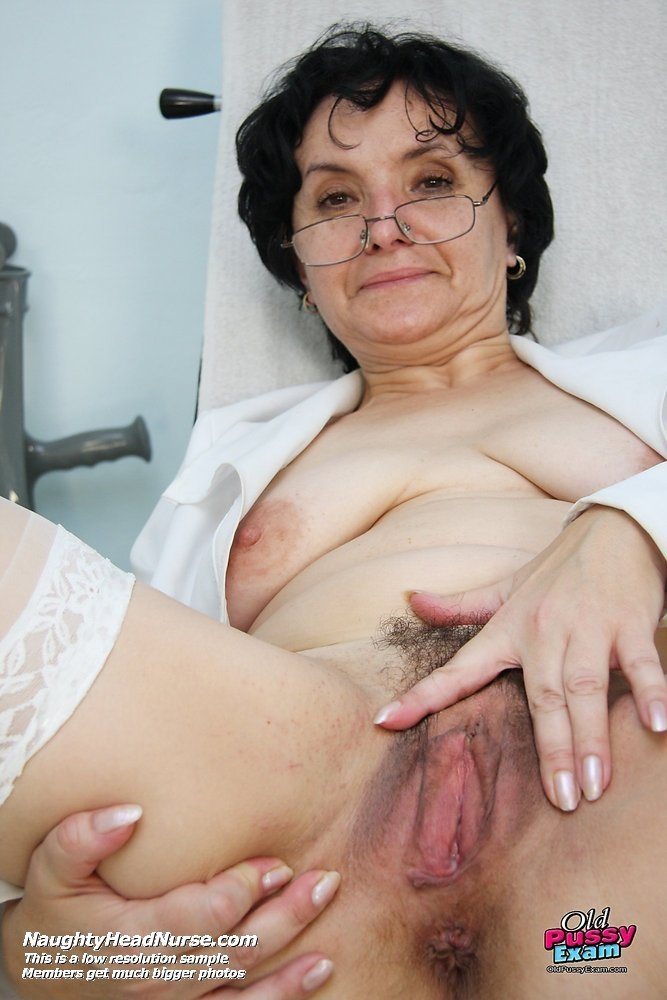 tits saggy grannies Nurse tugging
