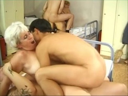 Stepsister anal orgy grannies