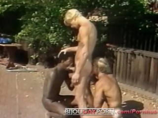 Students gaysex licking outdoor