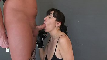 mounth Tugging tits group saggy