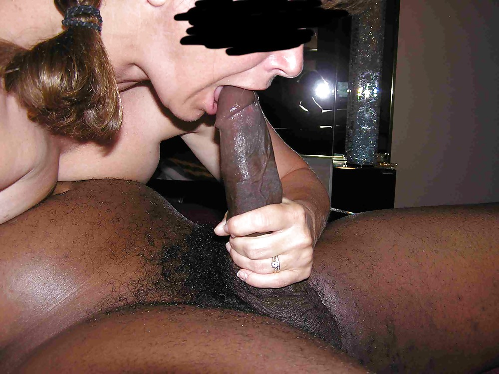 Wife black outdoor monster cock